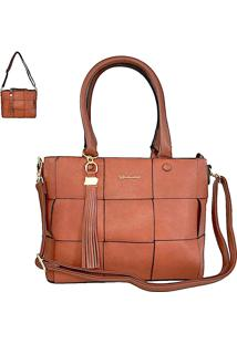 Bolsa Its! Shopper Caramelo