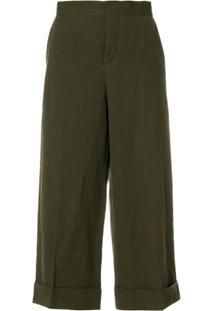 Marni Tailored Culotte Trousers - Green