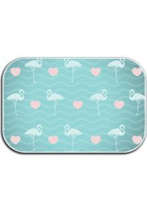 Tapete Love Decor Wevans Flamingos Azul