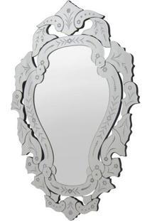 Espelho Arino- Espelhado & Prateado- 90X60X1,6Cmrivatti