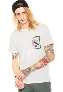 Camiseta Redley Mix Tape Bege
