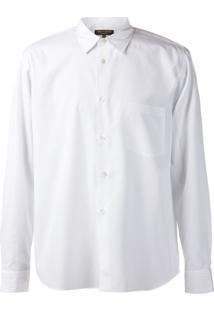 Comme Des Garçons Homme Plus Camisa - Branco