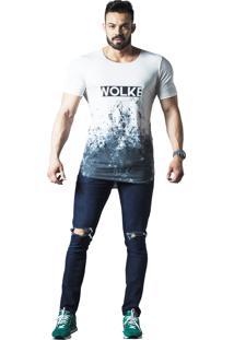 Camiseta Wolke Oversized Branca