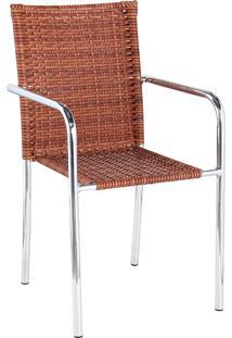 Cadeira Aluminio C/ Fibra C315.0001 – Alegro Móveis. - Castor