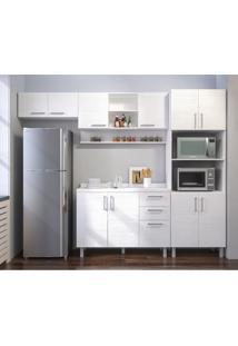 Cozinha Compacta Floripa 10 Pt 3 Gv Branca