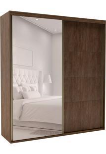 Guarda-Roupa Casal Com Espelho Eleganza Ll 2 Pt 4 Gv Marsala