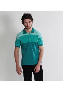 Camisa Polo Com Listra Masculina City Gear