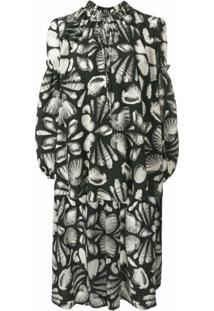 Alexander Mcqueen Blusa Cabinet Of Shells - Preto