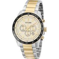 fa845577c22 Relógio De Pulso Masculino Citizen Tz30802E - Masculino-Prata+Dourado