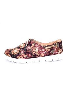 Tênis Tratorado Quality Shoes Feminino 005 Floral 34