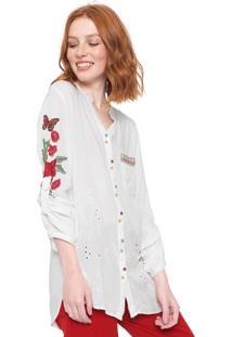 Camisa Desigual Gemm Off-White