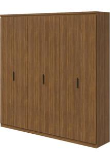 Guarda-Roupa Alonzo Plus - 100% Mdf - 6 Portas - Rovere Naturale
