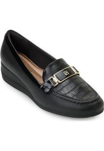 Sapato Anabela Piccadilly Pd20 11707 Feminino - Feminino