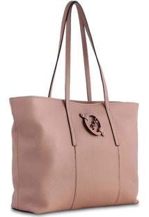 Bolsa Saad Shopper Floater Nude
