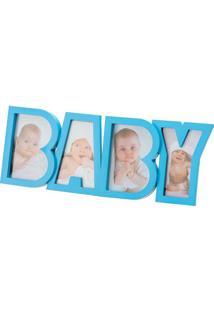 Porta Retrato Baby 10X15 - Prestige - Azul