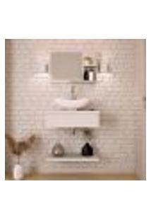 Conjunto Para Banheiro City Ii Branco
