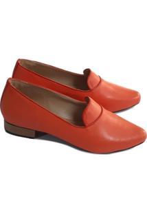 Loafer Sapatos E Botas Couro Goiaba
