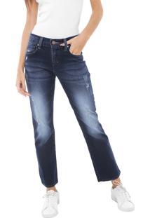 1a76f05f4 ... Calça Jeans Triton Reta Cropped Fatima Mid Azul