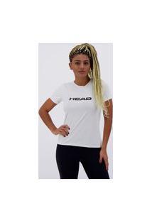 Camiseta Head Basic Sport Feminina Branca