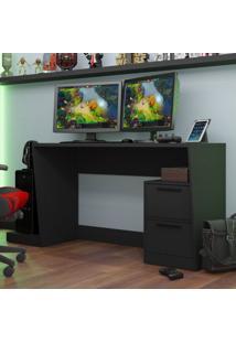 Mesa Para Computador Gamer Bmg 02 - Brv Móveis Elare