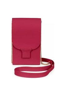 Bolsa Feminina Phone Case Petite Jolie Plus Pj2745 Transversal Vinho