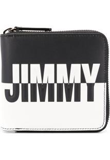 Jimmy Choo Carteira Com Logo - Preto