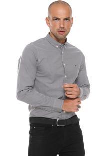 9a9047cdb73 ... Camisa Tommy Hilfiger Slim Mini Cinza Branca
