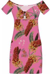 Vestido Ombro A Ombro Estampa Floriade - Lez A Lez