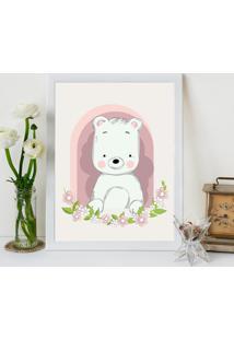 Quadro Decorativo Infantil Urso Baby