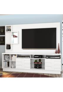 Estante Para Tv Heitor 633002 Branco - Madetec