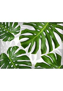 Jogo Americano Diferente, Criativo, Moderno | Folha Costela De Adão Verde - Tamanho 30 X 40 Cm
