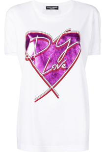 Dolce & Gabbana Blusa 'Coração' - Branco