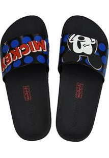 Sandalia Fem Inj Zaxy Pop Mickey Slide 65169010