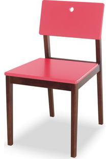 Cadeira Flip Cor Cacau Com Rosa - 30828 Sun House