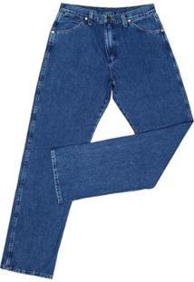 Calça Jeans Wrangler Cowboy Cut Amaciada Masculina - Masculino-Azul