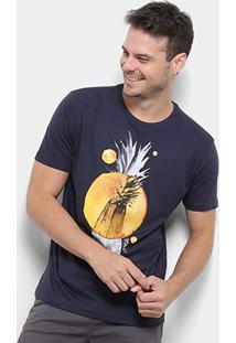 Camiseta O'Neill Bordapple Masculina - Masculino-Marinho