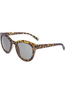 43ba10ed1f142 Óculos De Sol Onca Preto feminino