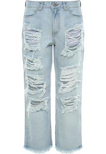 Calça Jeans Boyfriend França