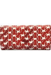 ec73992043c Carteira Lacoste Vermelha feminina