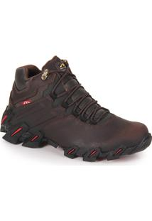 Bota Adventure Masculina Bull Terrier Axis - Marrom