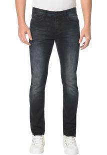 Calça Jeans Five Pocktes Slim Ckj 026 Slim - Marinho - 42
