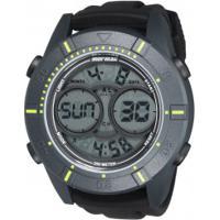 fdf27820f3fe5 Relógio Digital Mormaii Mo150915Ae - Masculino - Cinza Preto