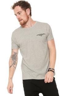 Camiseta Iódice Estampada Cinza