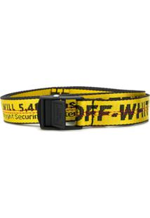 Off-White Cinto Industrial - Amarelo
