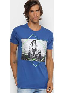 Camiseta Hd Slim Estampada-2705A Masculina - Masculino