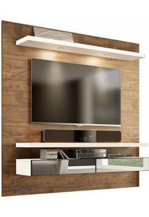 "Home Suspenso Tb107E Para Tvs De Até 60"" Nobre Fosco/Off White"