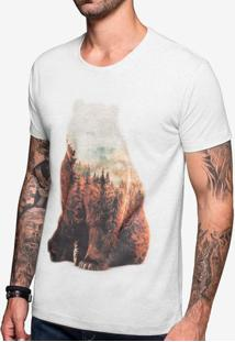 Camiseta Bear Mescla Claro 103398