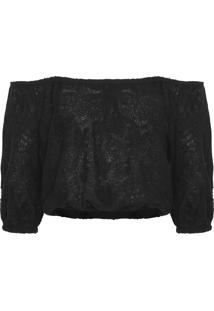 Blusa Feminina Night - Preto