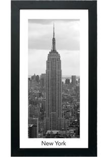 Quadro Decorativo Nyc Preto