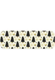 Tapete Decorativo Lar Doce Lar Natal 120Cm X 40Cm Multicolorido Love Decor